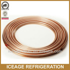 Air Conditioning Refrigeration Soft Pancake Coiled Copper Tube Pipe