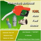 "120L automatic fuel nozzle for fuel dispenser 3/4"" and 1"" with 5 colors"
