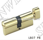 LB07 PB door cylinder, cylinder lock body, furniture hardware, door lock