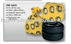 car accessories / plastic tire sack