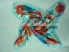 hand-painted scarf