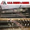 Bi-Metallic twin screw double cylinder for PVC PE WPC extrusion