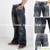 100% Cotton Lesure Mens Designer Jean Pants