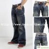 100% Cotton Lesure Mens Designer Jean Pants