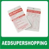 AED Inspection Tag/AED sign/AED Labels/Automated External Defibrillator Inspection Tags/INSPECTION TAGS/AED CHECK Tag