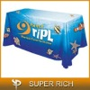 Sublimation printing advertise table skirt