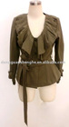 Ladies' Fashion designed 2012 China OEM jackets maker