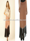 Black Chiffon Long One Shoulder Dancing Queen Dress 50001