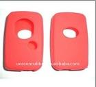 silicone car remote case for Toyota Corolla YARIS Reiz