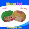 Promotional lovely girl mouse pad
