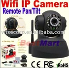 WPA Wireless Wi-Fi Internet PTZ Dual Audio Built-in Microphone IP Camera