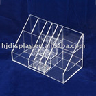 hot sale transparent slap-up acrylic jewelry display
