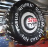 Giant advertising balloon tire for sales