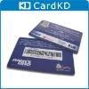 Random barcode plastic card barcode member card