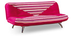 Red Design Fabric Sofa Bed Furniture