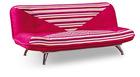 Red Design Fabric Sofa Bed Furniture