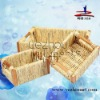 promotion handmade corn husk fruit basket