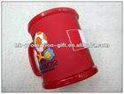 Popular Eco-friendly Europe soft pvc drinking mug