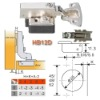 HB12D Hydraulic Buffering Concealed Hinge