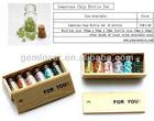 HPP492 gemstone beads chip bottle set as gift