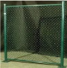 pvc cotaed or galvanized chain link fence