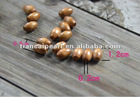 Free shipping!! 12mm*5mm*2mm rice granular type wood bead necklace with materials earrings act