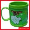 Promotion logo silicon mug cup