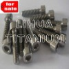 DIN933 Titanium Standard Component with Gr2 Gr5