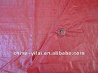 red color PE tarpaulin in roll for agriculture & industrial covers