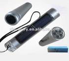 Aluminium Alloy Solar Flashlight torch High Quality