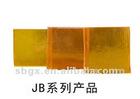 Golden yellow filter glass