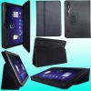 PU/leather case for xoom*two way standing*