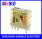 SLOKE 2 pole slim relay plug in relay 5mm AC120V