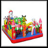 Shopping center attractive kids games christmas inflatables for sale