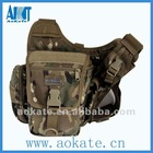 black fashion shoulder tactical military bag pack