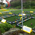 2013 Most Popular Inflatable Soccer/Football Field with Net Windows