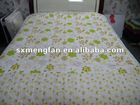 cotton/polyester small flowers printing squard stiching thin quilt/comforter