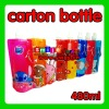 2011 newest Factory outlets eco-friendly and non-toxic 480ml mix styles wholesale cartoon foldable water bottle