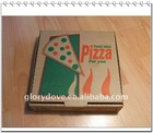 colour printing pizza box