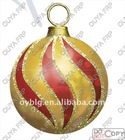 large fiberglass christmas ball