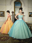 Classical Full Length Sweetheart Ball Gown Quinceanera Dress Patterns QV-085