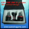 Newest design E39 cree 20W angel eyes