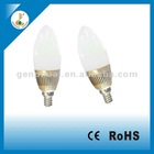 Hot Selling Candle 3W LED Lamp AC220V