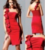 2012 charming design one shoulder girls party cocktail dresses