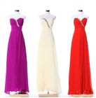 Classic hot sale beautiful Crystal beaded evening dress