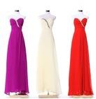 Classic hot sale beautiful Crystal beaded evening dress