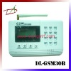 Digital display 8 wireless zones GSM security alarm system
