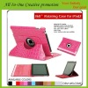 PU leather Case for iPad with sleeping function