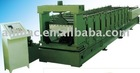 WIDE-SPAN CURVING ROOF FORMING MACHINE