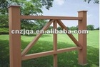 WPC garden / lawn fence,laminated fence WL02
